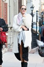 CANDICE SWANEPOEL Out and About in New York 03/19/2018