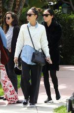 CARA SANTANA Leaves Beverly Hills Hotel 03/18/2018
