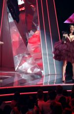 CARDI B Performs at Iheart Radio Music Awards in Los Angeles 03/11/2018