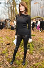 CARLA BRUNI at Chanel Show at Paris Fashion Week 03/06/2018