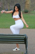 CARLA HOWE at Hyde Park in London 03/21/2018