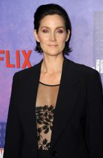 CARRIE-ANNE MOSS at Jessica Jones Season 2 Premiere in New York 03/07/2018