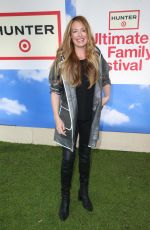 CAT DEELEY at Hunter for Target Ultimate Family Festival in Pasadena 03/25/2018