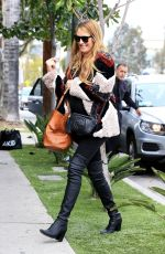 CAT DEELEY Out on St. Patrick's Day in Los Angeles 03/17/2018