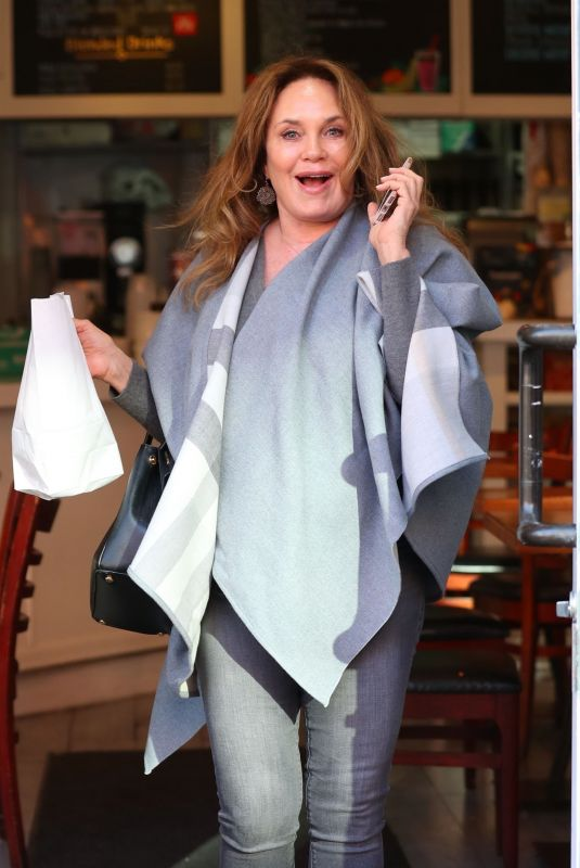 CATHERINE BACH Out for Lunch at Judi