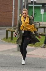 CATHERINE TYLDESLEY Leaves a Gym in Manchester 03/20/2018