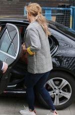 CATHERINE TYLDESLSEY Leaves ITV Studios in London 03/22/2018