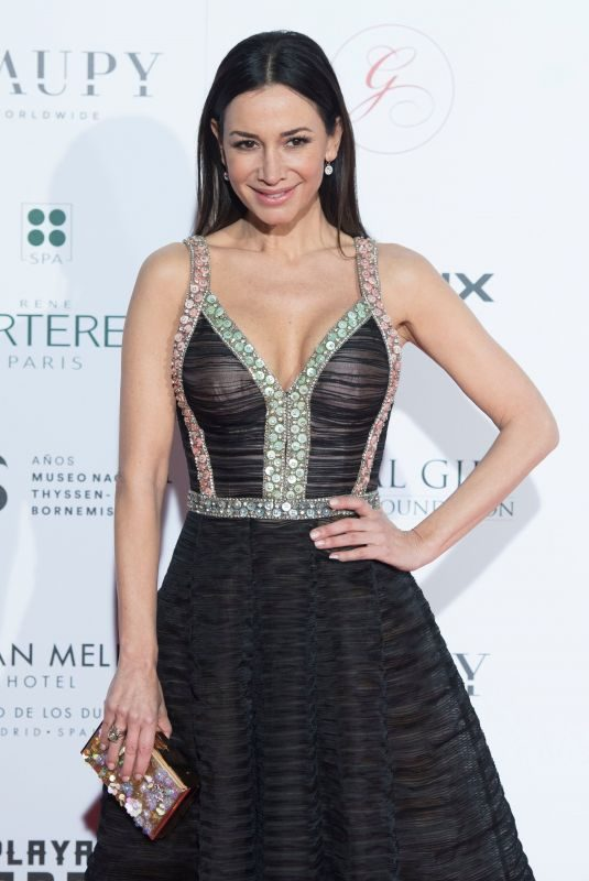 CECILIA GOMEZ at Global Gift Gala 2018 at Thyssen Museum in Madrid 03/22/2018