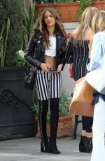 CELISA FRANCO Out for Lunch in Beverly Hills 03/09/2018