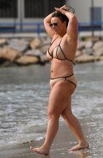 CHANELLE HAYES in Bikini at a Beach in Alicante 03/28/2018