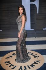 CHANTEL JEFFRIES at 2018 Vanity Fair Oscar Party in Beverly Hills 03/04/2018