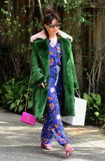 CHARLI XCX Leaves Diane Von Furstenburgs Oscar Luncheon in Los Angeles 02/28/2018