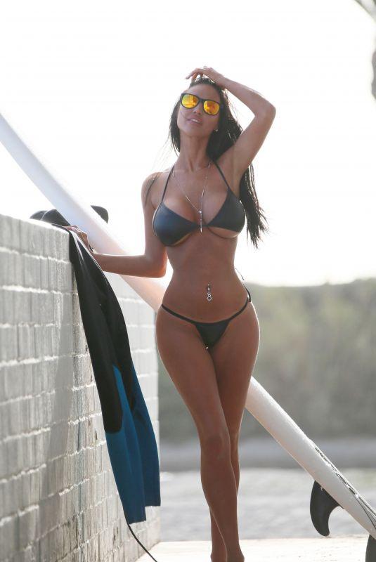 CHARLIE RIINA in Bikini for 138 Water in Malibu 03/19/2018