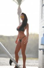CHARLIE RIINA in Bikini for 138 Water in Malibu 03/19/2018