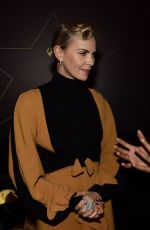 CHARLIZE THERON at Global Teacher Prize 2018 in Dubai 03/18/2018