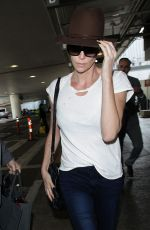CHARLIZE THERON at Los Angeles international Airport 03/19/2018