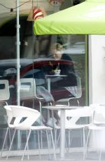 CHARLIZE THERON at Menchie