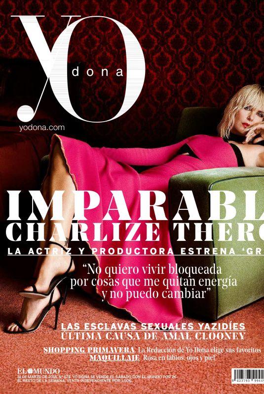 CHARLIZE THERON in Yo Dona Magazine, March 2018