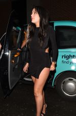 CHARLOTTE CROSBY Night Out in London 03/28/2018