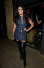 CHARLOTTE DAWSON at Cocktails and Carbs Launch in Manchester 03/05/2018