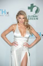 CHARLOTTE MCKINNEY at Global Green Pre-Oscars Party in Los Angeles 02/28/2018