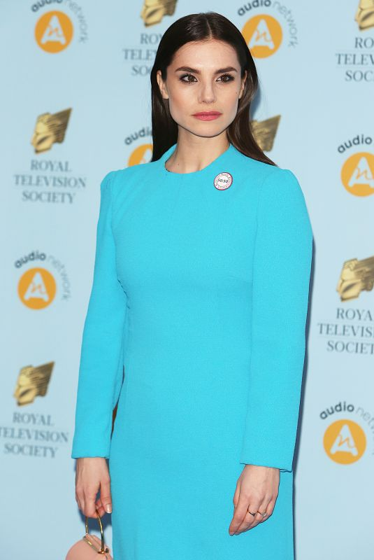 CHARLOTTE RILEY at RTS Programme Awards in London 03/20/2018