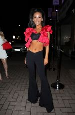 CHELSEA HEALEY at Arvina Nightclub in Cheshire 03/16/2018