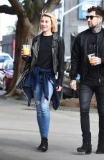 CHELSEA KANE and Graham Nation Out in Los Angeles 03/15/2018