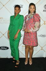 CHLOE and HALLE BAILEY at 2018 Essence Black Women in Hollywood Luncheon in Beverly Hills 03/01/2018
