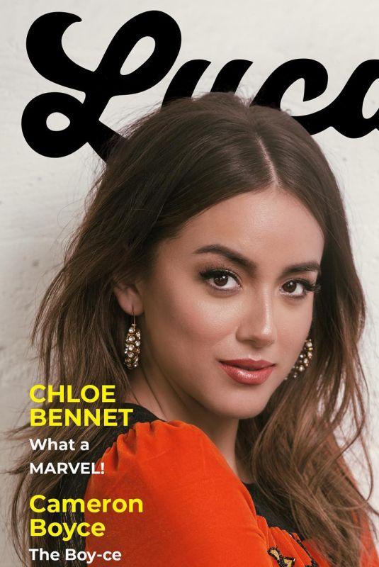 CHLOE BENNET for Luca Magazine, Spring 2018 Issue