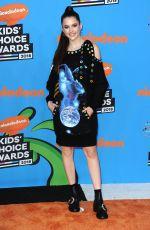 CHLOE EAST at 2018 Kids' Choice Awards in Inglewood 03/24/2018