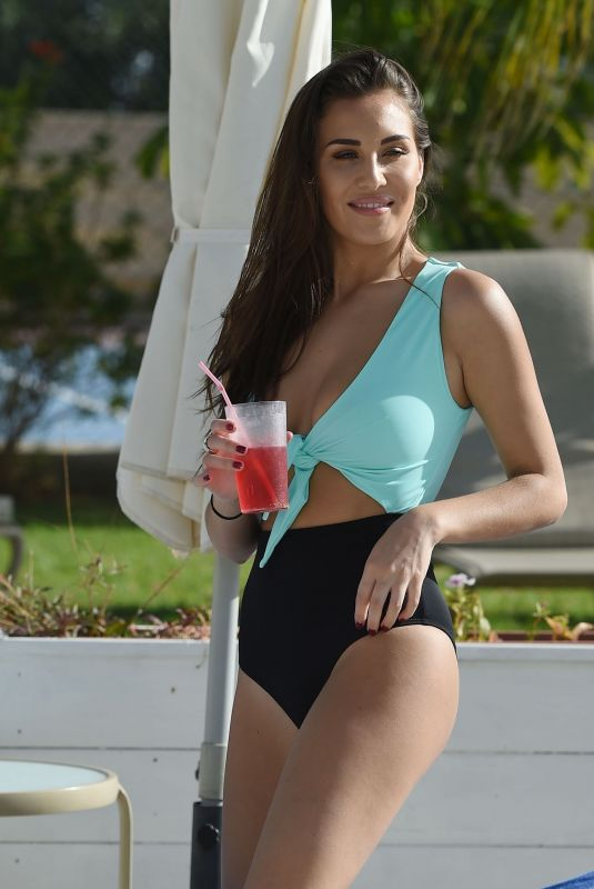 CHLOE GOODMAN in Swimsuit on Holiday in Cyprus 03/05/2018