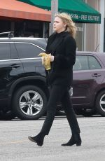 CHLOE MORETZ All in Black Out in Beverly Hills 03/20/2018