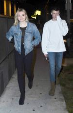 CHLOE MORETZ at Gracias Madre in West Hollywood 03/23/2018