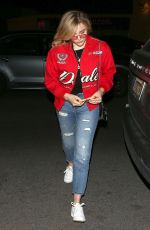 CHLOE MORETZ Night Out in West Hollywood 03/29/2018
