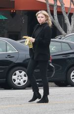 CHLOE MORETZ Out and About in Beverly Hills 03/20/2018