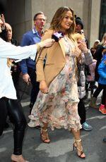 CHRISSY TEIGEN Arrives at Good Morning America in New York 03/27/2018