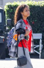 CHRISTINA MILIAN Arrives at a Studio in Los Angeles 03/23/2018