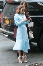 CHRISTINE EVANGELISTA Arrives at Bowery Hotel in New York 03/08/2018