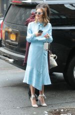 CHRISTINE EVANGELISTA Arrives at Bowery Hotel in New York 03/08/2018