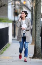CHRISTINE LAMPARD Out and About in Chelsea 03/27/2018