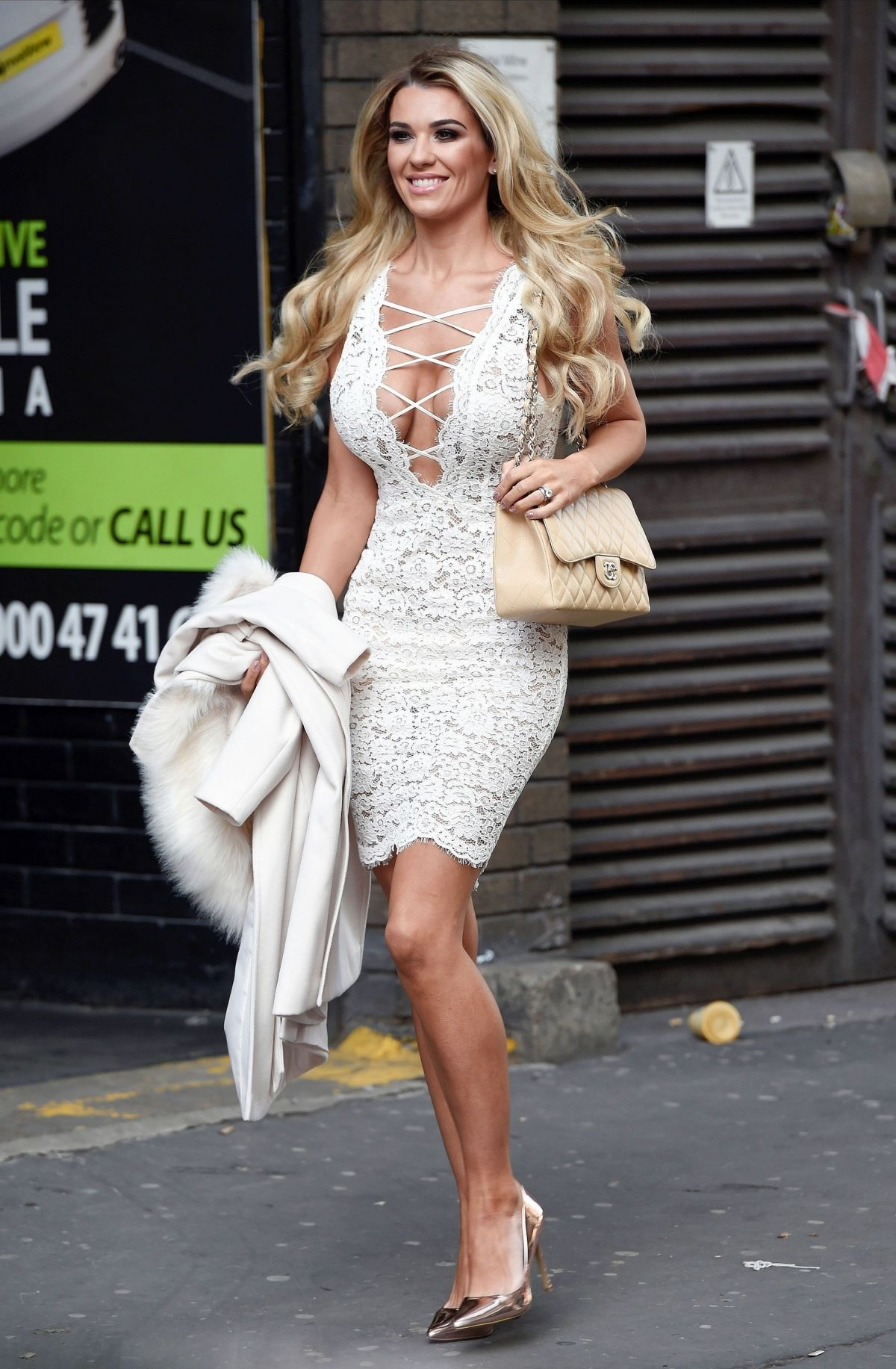 Christine Mcguinness Out And About In Manchester 03 07