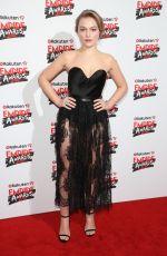 CIARA CHARTERIS at Empire Film Awards in London 03/18/2018
