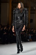 CINDY BRUNA at Balmain Fashion Show at Paris Fashion Week 03/02/2018