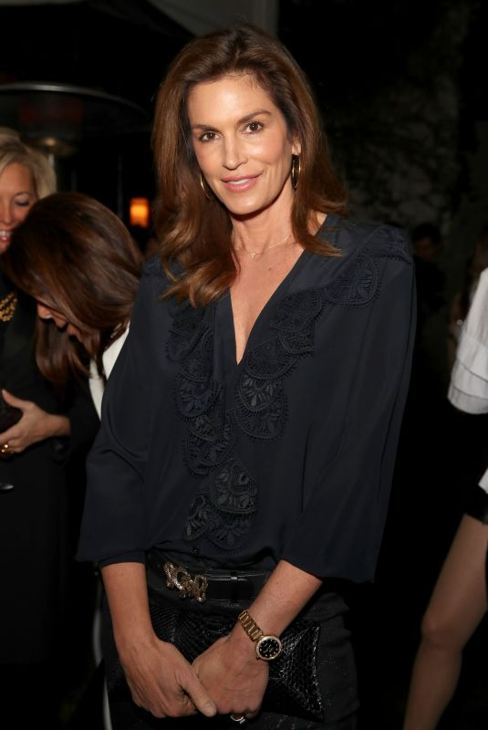 CINDY CRAWFORD at Chanel Pre-Oscars Event in Los Angeles 02/28/2018