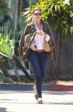 CINDY CRAWFORD at Country Mart in Malibu 03/19/2018