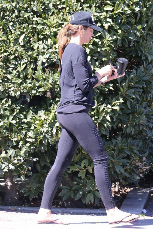 CINDY CRAWFORD Leaves Yoga Class in Malibu 03/04/2018