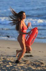 CJ FRANCO in Swimsuit for 138 Water Photoshoot in Malibu 03/07/2018