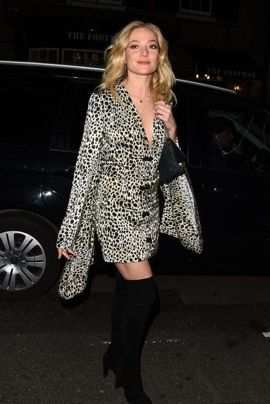 CLARA PAGET at Mark's Club in London 03/22/2018