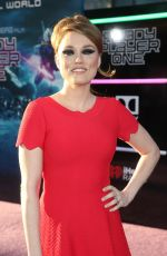 CLARE GRANT at Ready Player One Premiere in Los Angeles 03/26/2018